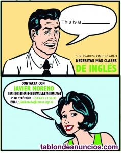 Clases de apoyo de inglés hasta bachillerato