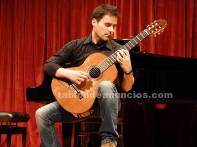 Clases de guitarra clásica y eléctrica, lenguaje musical y