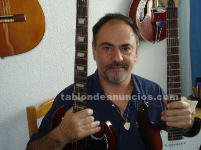 Clases de guitarra electrica,clasica o acustica en