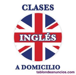 Clases de inglés a domicilio. Todos los niveles.