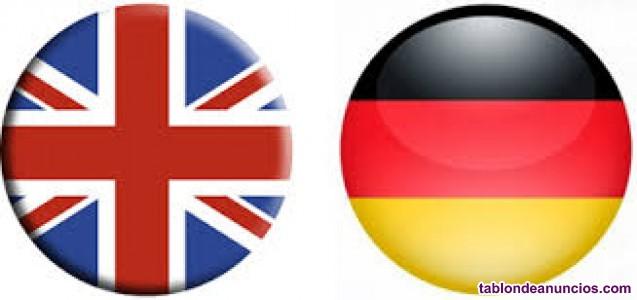 Clases de inglés y alemán