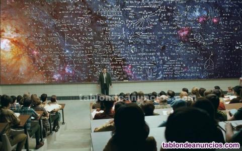 Clases particulares a domicilio de matemáticas, física y