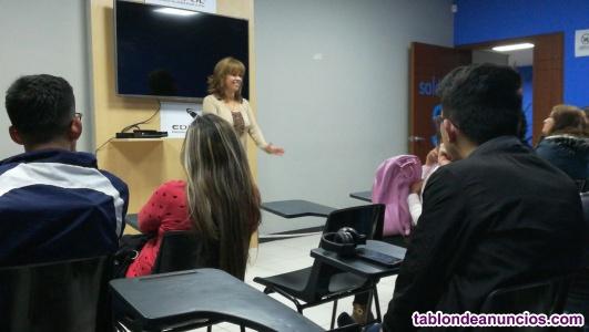 Clases particulares de inglés, español (extranjeros)y