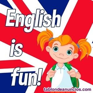 Clases particulares de inglés todos niveles