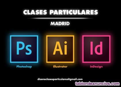 Clases particulares de photoshop + illustrator + indesign