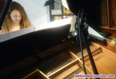 Clases particulares de piano, lenguaje musical, armonía y