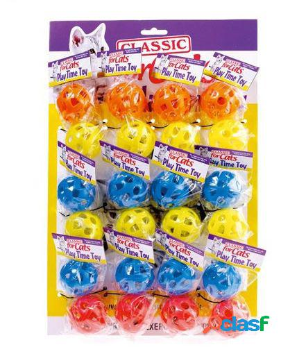Classic For Pets Pelotas de Plástico para gatos
