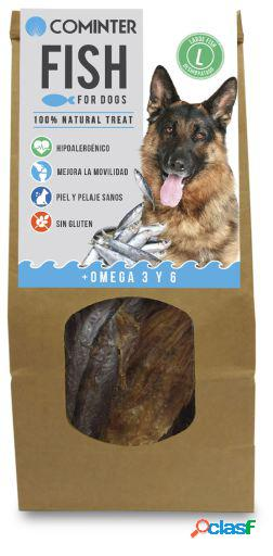 Cominter Snack para Perros Fish For Dogs Large Fish 100 gr