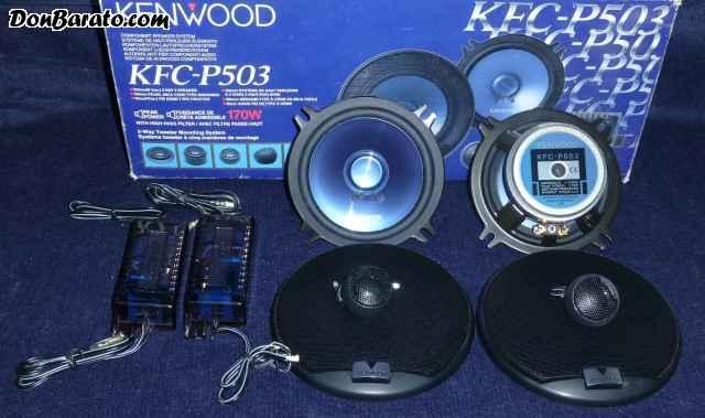Conjunto de kenwood de 170w
