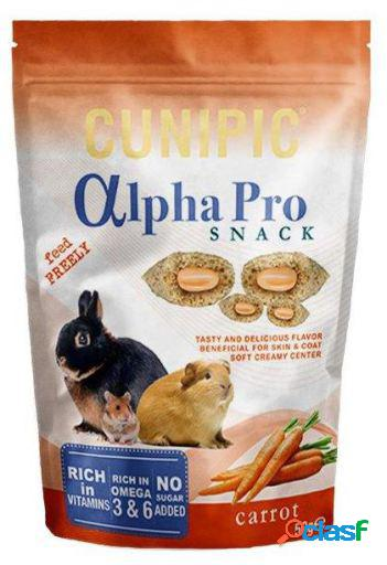 Cunipic Alpha Pro Snack Zanahoria 50 g. 50 GR