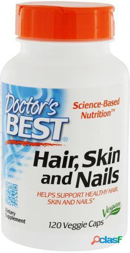 Doctor's Best Piel y uñas del pelo 120 cápsulas vegetales