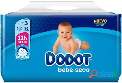 Dodot Bebé Seco Pañal Talla 3 con 96 Unidades