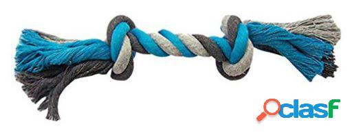 Duvo+ Cuerda 2 Nudos Azul para perros XL