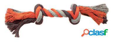 Duvo+ Cuerda Naranja Con 2 Nudos para perros XL