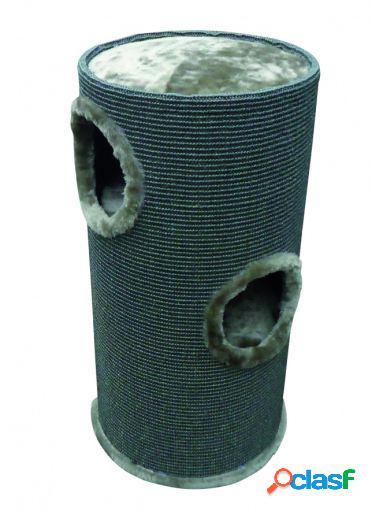 Duvo+ Rascador Torre Tonel 36 X 35 X 70 cm Gris