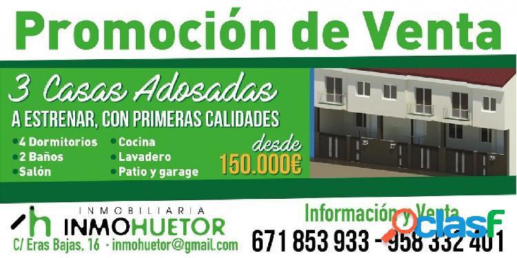 ESPECTACULARES CASAS ADOSADAS EN HUETOR TAJAR ZONA DE LA
