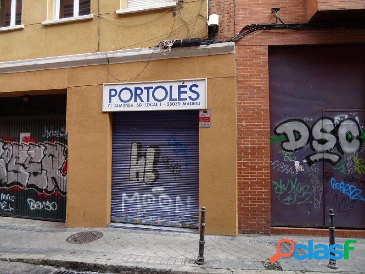 ESTUDIO HOME MADRID OFRECE local diáfano en la zona de