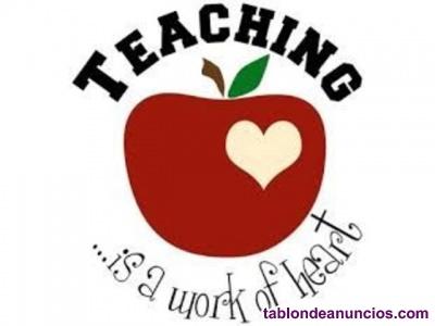 Economicas clases de inglés y refuerzo para primaria!