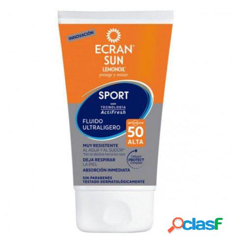 Ecran Sun Lemonoil Sport Fluido Extra ligero facial spf50 40