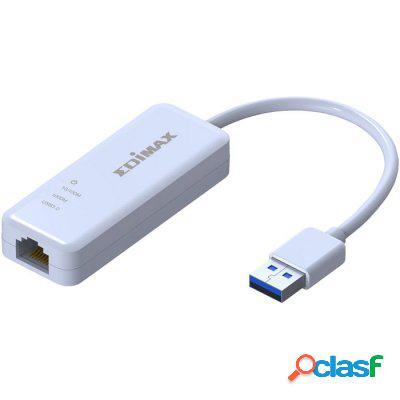Edimax Eu-4306 Adaptador Usb 3. 0 Ethernet Gigabit, original