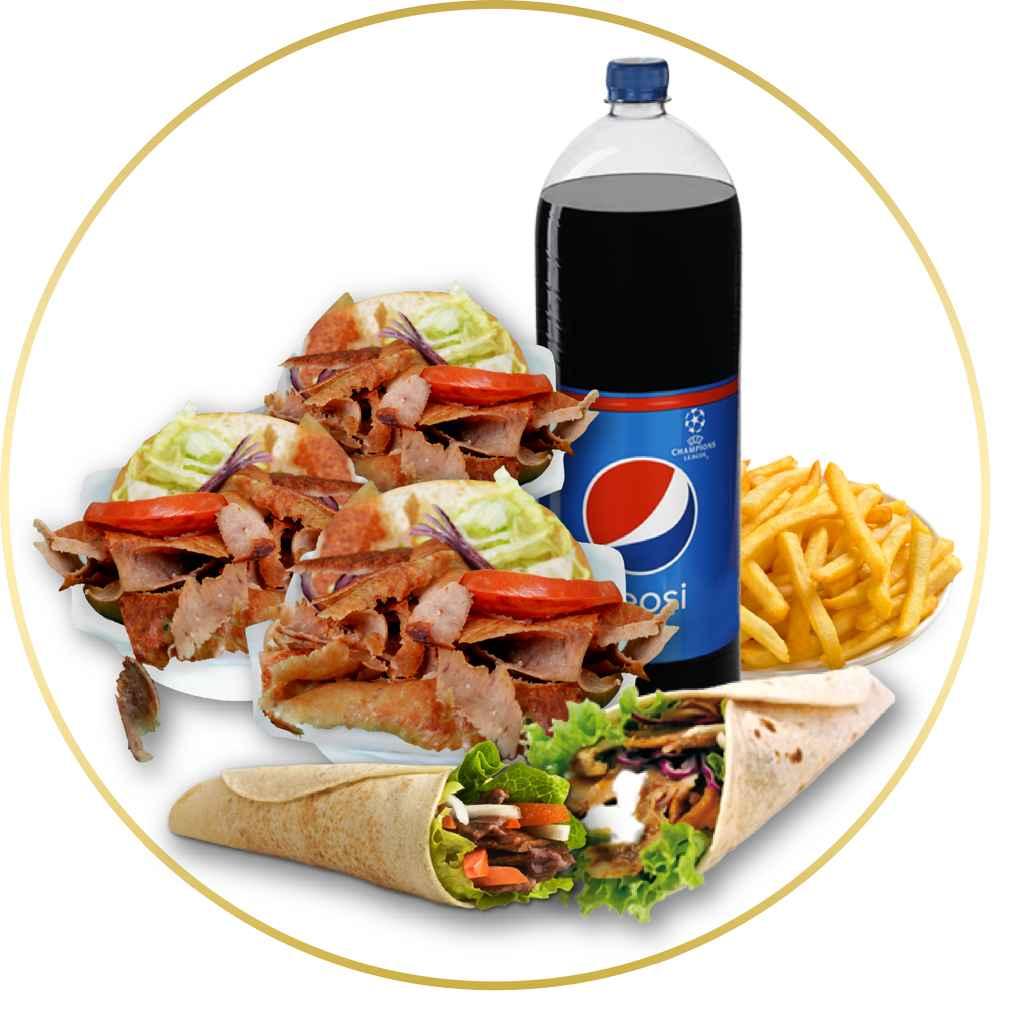 En Kebab Pack tenemos ofertas para toda la familia -