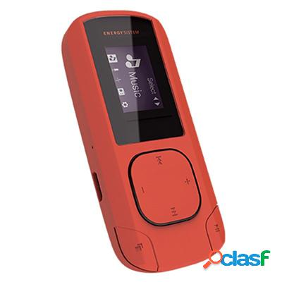 Energy Sistem Mp3 Clip 8Gb Radio Sd Coral, original de la