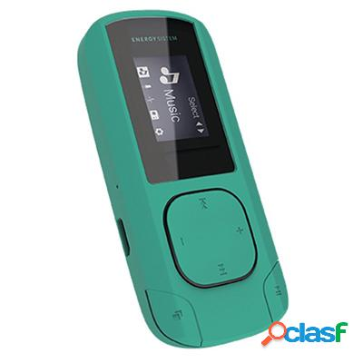 Energy Sistem Mp3 Clip 8Gb Radio Sd Menta, original de la