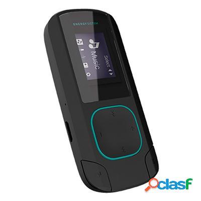 Energy Sistem Mp3 Clip Bluetooth 8Gb Radio Menta, original