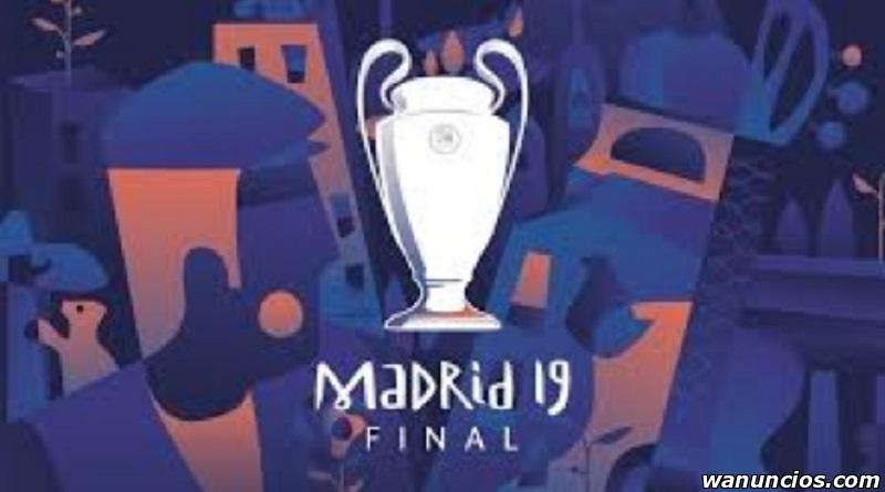 Entradas para la FINAL del Champions League '19 Wanda