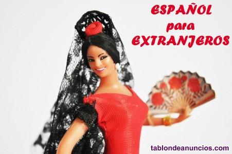 Español para extranjeros. Spanish for foreigners in toledo