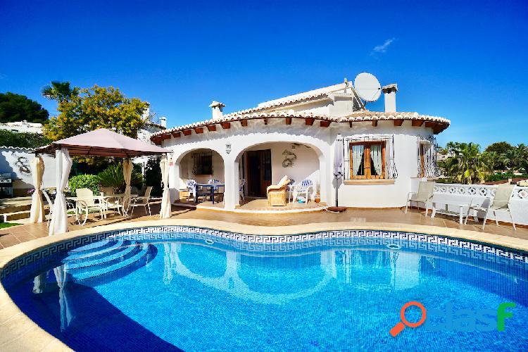 Esta hermosa villa de estilo t