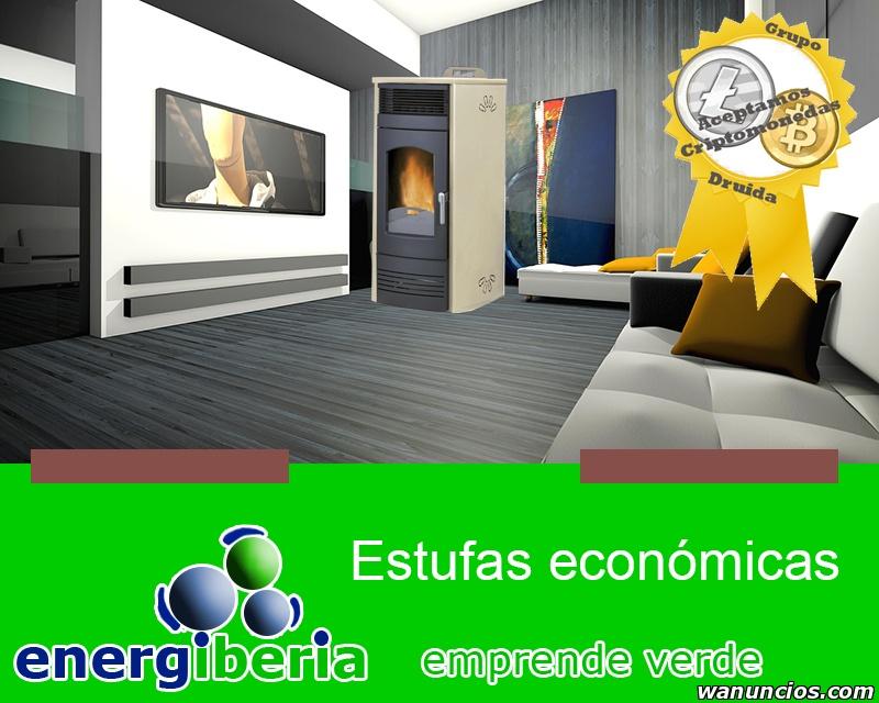 Estufas de pellet económicas - Valladolid