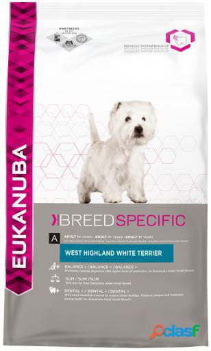 Eukanuba West Adult Highland White Terrier pollo 2.5 KG