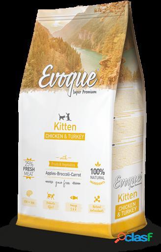Evoque Kitten PolloPavo y Arroz 1.5 Kg