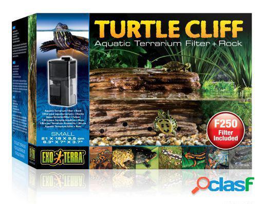 Exo Terra Filtro y Roca para Tortuga Turtle Cliff Adaptador