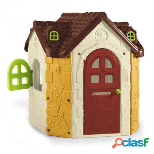 Feber Casa fancy con grifo y fregadera para niños de 3