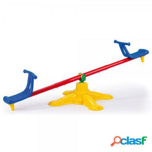 Feber Sube y baja girando con tubo de acero para niños de 3