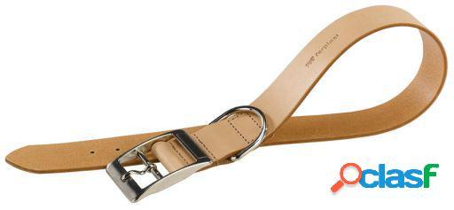 Ferplast Collar Cuero Natural marrón XXL
