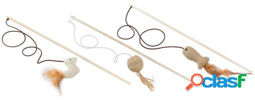 Ferplast Pa 4998 Wooden Cat Whip 0.6x40 cm
