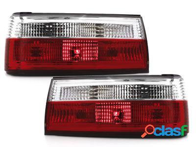Focos Faros traseros BMW E30 09.87-10.90 rojo/cristal