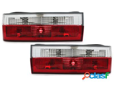 Focos Faros traseros BMW E30 83-08.87 rojo/cristal