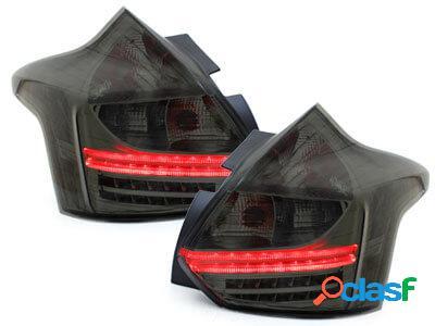 Focos Faros traseros LED Ford Focus 2011+ ahumado