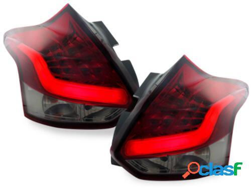 Focos Faros traseros LED Ford Focus 2011+ rojo/ahumado