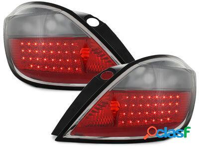 Focos Faros traseros LED Opel Astra H 5p 04-06 rojo/ahumado