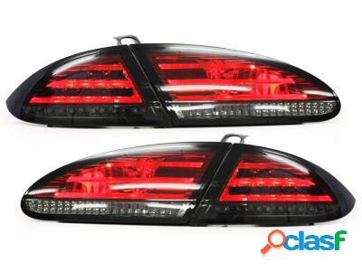 Focos Faros traseros LED Seat Leon 05-09 1P rojo/ahumado