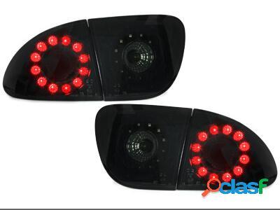 Focos Faros traseros LED Seat Leon 99-05 negro/ahumado