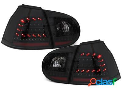 Focos Faros traseros LED VW Golf V 5 03-09 negro