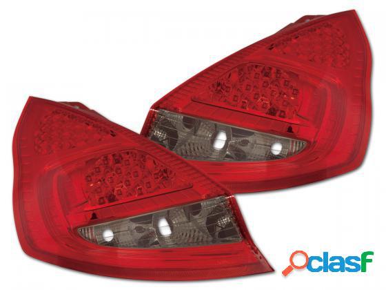 Focos de LEDs traseras para Ford Fiesta 7 (JA8) 5 puertas A