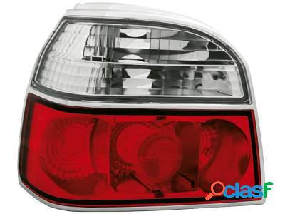 Focos traseros para VW Golf III 91-98 rojos/claros