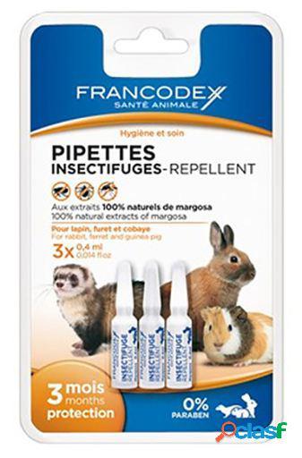 Francodex Pipetas Repelentes para Conejos y Hurones 3